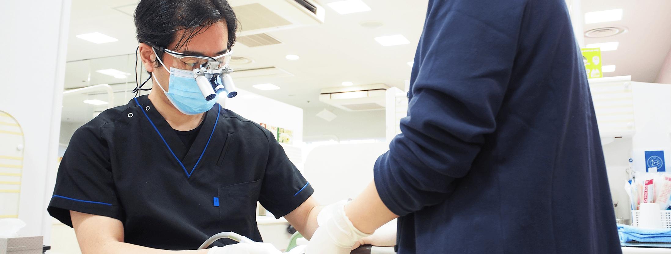 歯科診療風景